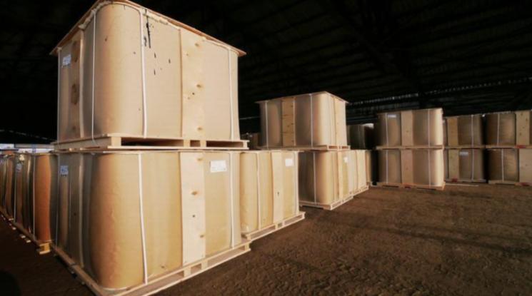 Фасовка дорожных битумов в среднетоннажные контейнеры