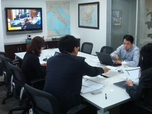 Офис в Китае