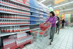 Вода в магазинах